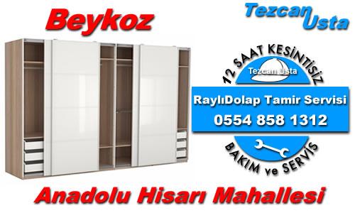 Anadolu Hisarı Raylıdolap Tamiri